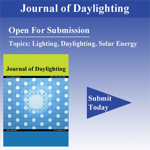 Call for papers: lighting, daylighting, solar energy