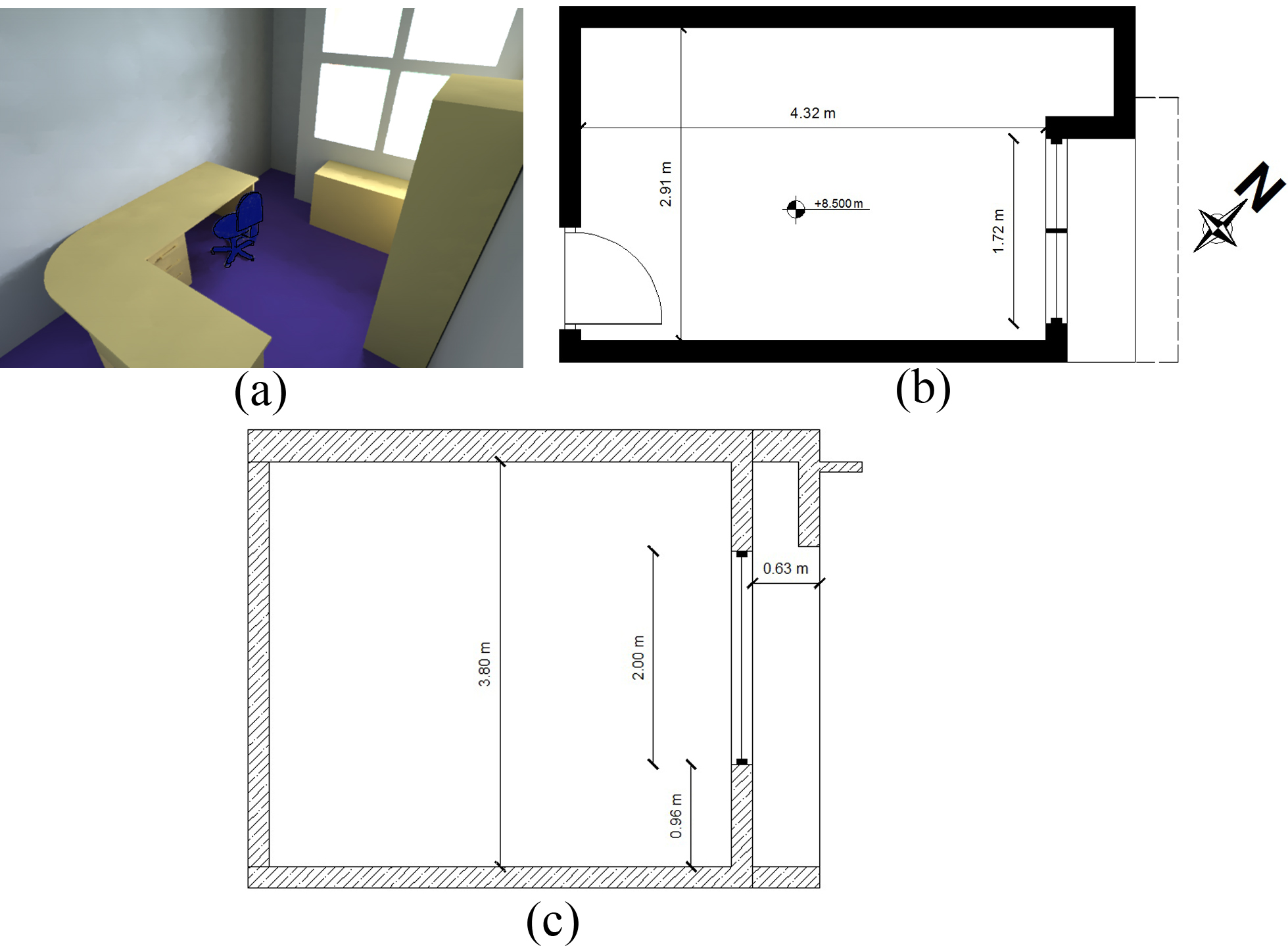 impact of furniture layout on indoor daylighting performance in